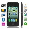 5S Black, 3.5 inch Capacitive Touch Screen, Wifi JAVA Bluetooth FM Function Ultra-thin Mobile Phone, Slip-operation can change t