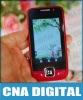 666 dual sim card 2'8 slider cell phone 666