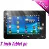 7 inch Wifi G-senser tablet pc phone