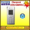 762 low end CDMA mobile phone CDMA800MHz, Color screen with FM