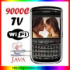 9000C cell phone Dual SIM mobile phone with WiFi TV FM