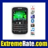 "9000c Quad Band Three Cards Three Standby Dual Cameras Color TV Bluetooth 2.2"" QWERTY Phone"