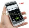 (A007)4 Inch Android Cell phone 3G WCDMA+GSM GPS TV Multi touch Screen MTK6573