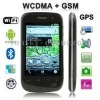 A101 Black, GPS + AGPS, Android 2.3 Version, Wifi Bluetooth FM function 3.5 inch Touch Screen Mobile Phone, Dual Sim cards Dual