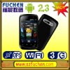 "A101 Cheap android smartphone, Android 2.3 OS, 3.5"" HVGA Caps. touch screen, SPB 3D shell, WiFi,GPS/AGPS,P-sensor."