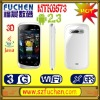 """A101 smartphone with dual sim card,android 2.3, MTK6573, 3.5"""" HVGA Caps. touch screen, SPB 3D shell, WiFi,GPS/AGPS,P-sensor."""