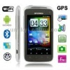 A3 Silver, GPS + Android 2.3 Version, Analog TV (SECAM/PAL/NTSC), Wifi Bluetooth FM function Capacitive Touch Screen Mobile Phon
