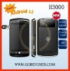 A3000 Android 2.2 samrt mobile phone
