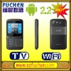 A6 Latest Android Smart phone, Touch screen QWERTY android phone, TV FM WIFI JAVA