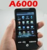 A6000 cell phone Android 2.2 TV GPS WiFi Capacitive Multi-Touch screen