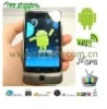 "(A7272+) 3.5"" Capacitive android 2.3 Tv GPs Wifi mobile phone"