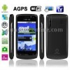A8 Black, AGPS + Android 2.2 Version, 3.6 inch Touch Screen, Analog TV (SECAM/PAL/NTSC), Wifi Bluetooth FM function Mobile Phone