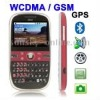 A810 Scarlet Red, GPS function, WCDMA / GSM Network, Band (WCDMA): 850/1900/2100MHZ; Band (GSM): 850/900/1800/1900MHZ, QWERTY Ke