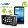 A8500 Smart phone 5 inch Capacitive touch screen GPS WIFI TV Android phone 2.2,smart mobile phone