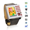 AK10+ dual sim wrist mobile phone watch,1GB&mono Bluetooth headset