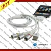 AV TV Cable for Iphone 4g