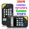 Accept paypal 3.5inch touch screen i5 5G java FM Dual camera GSM Quad Band unlocked mobile Phone