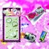 Acrylic Crystal Cell Phone Stickers(WD-EC161)