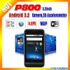 Android 2.2 dual sim mobile phone P800
