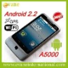 Android 2.2 smartphone A5000 with gps wifi tv mobile phone