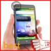Android 2.3 android 3g mobile phone dual camera 3G WCDMA 900MHz/2100MHz 4.3 inch capacitive