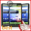 Android 2.3 dual sim android gps mobile phone 3g 3G WCDMA 900MHz/2100MHz 4.3 inch capacitive