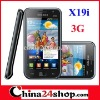 Android dual sim 3G mobile phone X19i with GPS WIFI TV