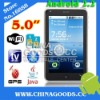 Android phone  GPS WIFI capacitive touch screen mobile phone
