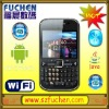 Android qwerty with touch screen smartphone with dual sim card, support GPS, WIFI, dual camera.