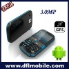 Android1.5 3G 3.0MP mobile phone sticker w830