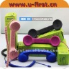 Anti-Radiation Classic Retro Handset for iphone&other 3.5mm cell mobile phones