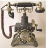 Antique phone for home decoration classicphone The Eiffel tower phone with rotary dial