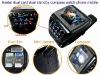 Avatar Quad-band dual sim dual standby wrist watch mobile with compass ET-2