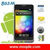 B63M MTK 6573 unlocked phone Dual SIM 4.1 '' Capacitive 3G WCDMA Android 2.3 WiFi GPS android Phone free shipping
