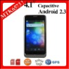 "B63M MTK6573 4.1"" Capacitive WCDMA Android 2.3 mobile phone 3g"