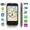 B68M Grey, GPS + Android 2.3 Version, Wifi Bluetooth FM function Capacitive Touch Screen Mobile Phone, Dual Sim cards Dual stand