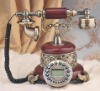 Beautiful vintage telephone for home decoration