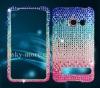 Bling diamond cell phone case for HTC EVO4G