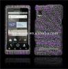 Bling diamond cell phone case for MOT A955