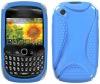 Blue Chameleon Skin Plactic Silicon Case for BlackBerry Curve 3G 9300 / 9330 / 8520 / 8530