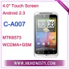 C-A007 MTK6573 WCDMA+GSM 3G Smartphone with Android 2.3