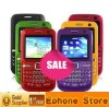 C3 Triple SIM Quad Band 2.0 Inch TFT Screen QWERTY Keypad Cell Phone (Dual Camera,JAVA,TV-Enabled)+Free shipping