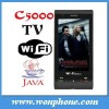 C5000 Hot Selling Dual Sim Mobile Phone WIFI TV