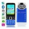C501 Blue, Russian Keyboard, Big Speaker, Bluetooth FM function Mobile Phone, Dual Sim cards Dual standby, Dual band, Network: G