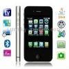 C6000 TV Black, Analog TV (PAL/NTSC), JAVA Bluetooth FM function Touch Screen Mobile Phone, Slip-operation can change the menu (