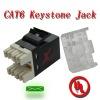 CAT6 modular/CAT6 keystone Jack/RJ45 keystone jack