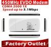 CDMA 2000 1X EVDO USB Data Modem 450MHZ