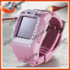 "CMOS camera Watch phone N388 1.3 mega pixel Expand Memory 1.4"" touch screen Triband Bluetooth multi-language"