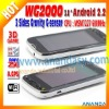 Capacitive 3g android dual sim WG2000