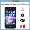 Capacitive 4G K668 3.5'' Capacitive screen Dual sim Compass Quadband WIFI, MSN, Email brand mobile phone